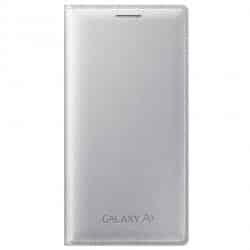 Funda Libro Samsung Galaxy A3 Gris Plata