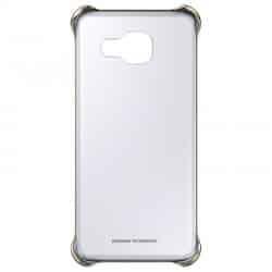 Carcasa Fusion Borde Plateado Samsung Galaxy A3 2016