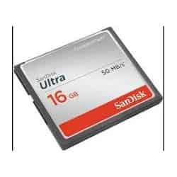 Tarjeta Memoria Compact Flash SANDISK SD 16GB